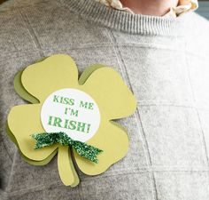 St. Patrick's Day Pin - share the luck of the Irish with everyone!