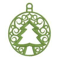 Dazzling Christmas Decorations - Wind Bell Embroidery | OregonPatchWorks Rose Embroidery, Custom Embroidery, Embroidery Thread, Machine Embroidery Designs, Free Design, Christmas Decorations, Scrappy Quilts, Christmas Decor, Christmas Tables