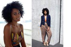 Love her style...so unique