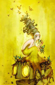 Glass Butterflies by Camilla d'Errico