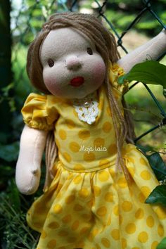 Claudia waldorf doll 12 inch. by Mojalala on Etsy