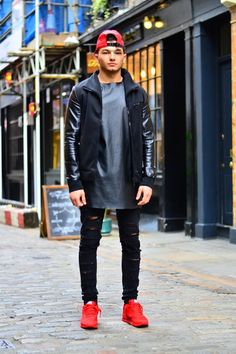 Never switched up my motive did Asos Fashion, Hip Hop Fashion, Street Fashion, Men Fashion, Timbs Outfits, Urban Male, Man Clothes, Fashion Finder, Layered Fashion