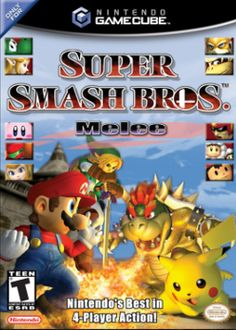 The video game that I personally like is Super smash bros. melee. I used to play this game with my cousins and my family. It has every Nintendo character that I like.