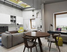 ПРОформа Дизайн   Проектирование пространства » Студио 8