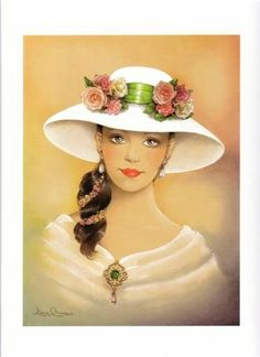 Decoupage Mujeres antiguas - Angel-o-Demonio --- - Picasa Web Albums