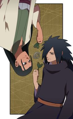 Hashirama and Madara.... Konoha... <3 <3 <3