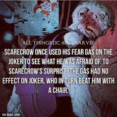 Well the Joker is also immune to his own toxic (the joker venom) so it only makes sense