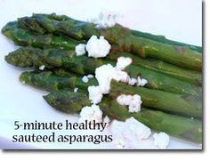 Recipe of the Week: 5-Minute Healthy Sauteed Asparagus