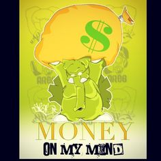 Back wen I was reppin Areb #ArElephant #MoneyOnMyMind #Always #GottaGetIt #Gimmie #jb183 #tnk #graphic #art  #cash #cream #tbt #jj