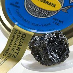 Authentic Payusnaya Russian Style Pressed Caviar - 1 Oz Tin, ,