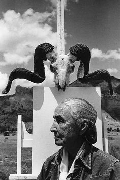 Georgia O'Keeffe by Arnold Newman