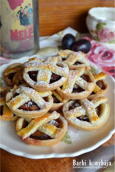 Christmas Cookies, Waffles, Bakery, Muffin, Food And Drink, Cooking Recipes, Sweets, Breakfast, Poppy