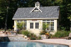 Kloter Farms - Sheds, Gazebos, Garages, Swingsets, Dining, Living, Bedroom Furniture CT, MA, RI: 14' x 24' SmartSide Elite Cape Avon