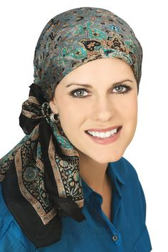 100% Silk Head Scarf - Headscarves for Women with Hair Loss, Head Coverings | Headcovers.com