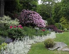 "Sydney Eddison's garden in Newtown, CT; she is author of ""Gardening for a Lifetime"""