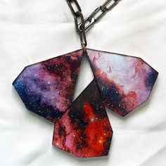 I like this awesome nebula necklace from stylehybrid.com. Its out of this world . . . Oh Gosh did I just say that :)