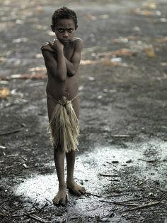 homeless child. Yakel