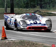 The Martini 917K winds through the Green Park Chicane (Photo: Louis Galanos)