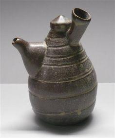 "Julie Johnson | ""Globe Pouring Vessel "" by ceramics pottery sculpture"