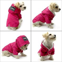"Dog Cold Weather Coats Dogs Clothes - Fleece Lined Parka Sports Dogs Jacket Windproof Lightweight Pet Winter Coat - Beirui Warm Dog Apparel for Small Medium and Large Dogs,Back for 11"",Hot Pink >>> Details can be found by clicking on the image. (This is an affiliate link) #Dogs"