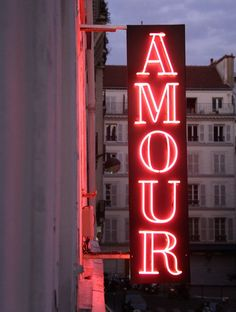Hotel Amour, Paris Amour is a very popular hotel in Paris. Aesthetic Colors, Aesthetic Photo, Aesthetic Pictures, Night Aesthetic, Photo Wall Collage, Picture Wall, Red Pictures, Red Images, Wall Pictures