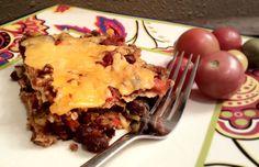 Healthy Enchilada Recipe, via eatingrules.com