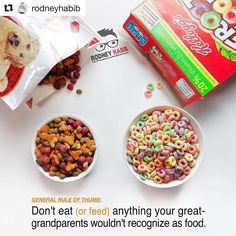 """#Repost @rodneyhabib with @repostapp  Coloring agents are often added to pet foods to modify the appearance of highly processed foods providing an artificial """"rich and meaty"""" look in an attempt to make the food appear more appealing to pet owners. Even pet brands that market themselves as healthy and holistic are guilty of using artificial colors. . Many of the artificial coloring agents used in dog foods have been associated with potential problems. FD&C Red No. 40 is a possible carcinogen…"""