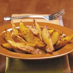 Oven Fries Recipe - we love these!