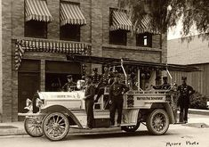 Vintage Fire Department
