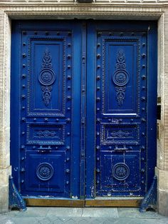 New Blue Door House Knock Knock Ideas