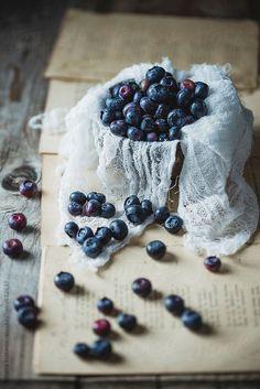 Blueberries by Tatjana Ristanic | Stocksy United