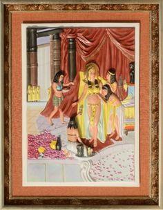 Cleopatra - 3D Porcelain Painting Cleopatra, Porcelain, Hands, 3d, Frame, Painting, Home Decor, Picture Frame, Porcelain Ceramics