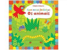 Os #Animais - Com Meus Dedinhos - Usborne #livros #infantil