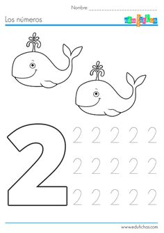 Preschool Number Worksheets, Numbers Preschool, Free Preschool, Preschool Curriculum, Preschool Activities, Alphabet Letter Crafts, Writing Numbers, Math Centers, Kids Learning
