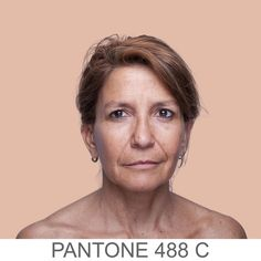 i want to paint every single one of these -- 27 Portraits Of The Human Pantone