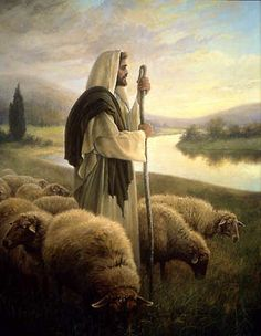 The Good Shepherd. Greg Olsen