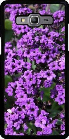 Hülle für Samsung Galaxy A5 (SM-A500) - Lila Blüten: Amazon.de: Elektronik