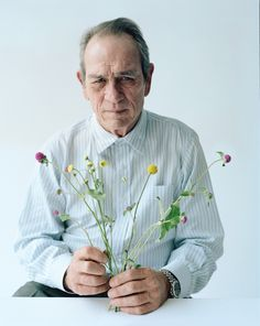 Photographer Tim Walker in W magazine: Best Performances 2015 - Tommy Lee Jones. This photo just makes me laugh.
