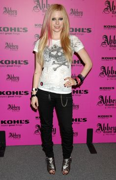 Avril Ramona Lavigne is a Canadian singer-songwriter. She was born in Belleville, Ontario, but spent most of her youth in the small town of Napanee.   @HalfMoonYoga