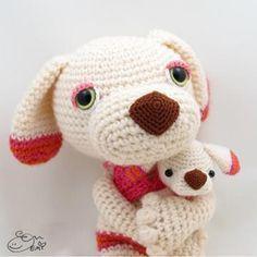 Coco and Niu amigurumi pattern by Emi Kanesada (Enna Design)
