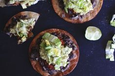 Spicy Soyrizo Tostadas #MeatlessMonday