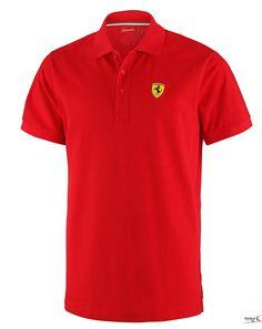 Koszulka Polo Ferrari Polo Classic - Red   FERRARI MEN \ POLO   Fbutik   Scuderia Ferrari Collection
