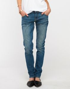 Andi Boyfriend jeans from Baldwin Denim.
