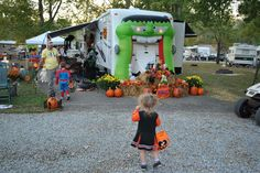Have you gone camping or RVing for Halloween? Looks like you're missing out on a lot of fun!
