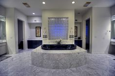 Which bathroom is the most difficult area of the home to photograph? You guessed it, the bathroom. Above is a picture of a Contemporary Luxury Bathroom by © Fratantoni Luxury Estates. Guest Bathrooms, Dream Bathrooms, Beautiful Bathrooms, Luxury Bathrooms, Custom Bathrooms, Outdoor Bathrooms, Luxury Estate, Luxury Homes, Luxury Mansions