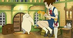 The cat returns (Studio Ghibli, Gato Anime, Anime Manga, Hayao Miyazaki, Neko, Totoro, Naive, The Cat Returns, Studio Ghibli Movies, Anime Reviews