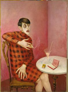Otto Dix - Retrato da Jornalista Sylvia Von Harden - 1926  This artwork can't be used without written consent from its author  http://www.facebook.com/AXER00Z  ..:::Please suggest this page to your best friends:::..