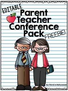 Need to be organized for parent teacher conferences? I've helped make that busy time of the year simpler for you with these forms. You can type RIGHT in to these forms and print for each student! Included: Sign Up, Reminder Note, Parent Questionnaire, Student Survey, Conference Template Forms, Parent Sign In, and Thank You Notes!