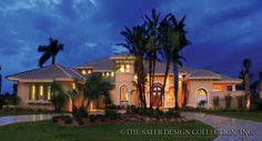 Ristano Home Plan Exterior Front View #6939