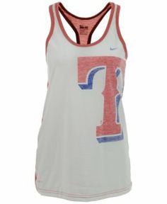 Texas Rangers Tank Top - perfect for summer